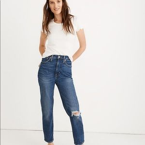 Madewell The Mom Jean: Comfort Stretch Edition
